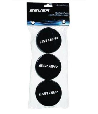 Bauer Hockey - Canada MINI FOAM PUCK - 3 PACK PACK - H/R