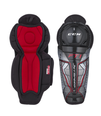 CCM Hockey - Canada SGFT1 Jetspeed FT1 Yth Shin Guards
