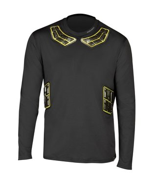Bauer Hockey - Canada Bauer Elite Padded L/S Base Layer Top SR