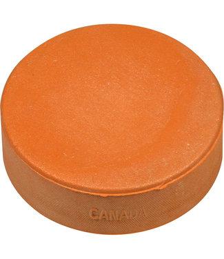 Orange Sponge Puck