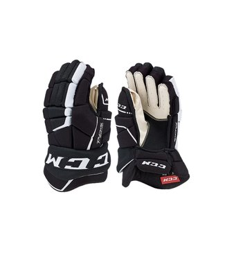 CCM Hockey - Canada HG9040 SR CCM TACKS Prot Gloves Black/White 14