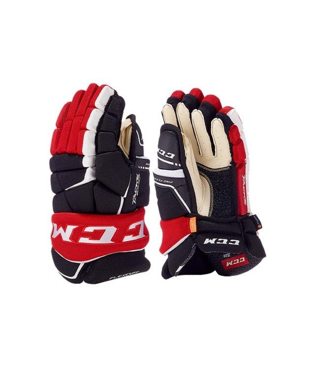 9060 Ccm Tacks Junior Gloves Navy/red/white 12