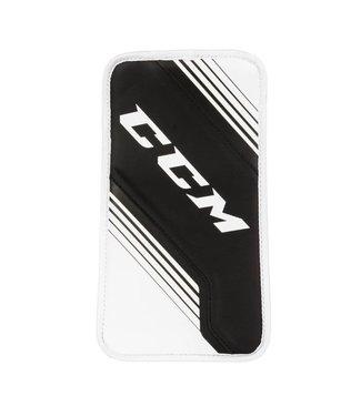 CCM Hockey - Canada GBYFX2 YT CCM YFX Goalie Blocker Wh/Wh/Bk/Bk REG
