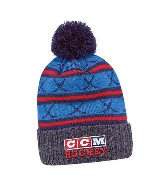 CCM Hockey - Canada C6287 CCM 3BLOCK POM TNV       AD     -0-