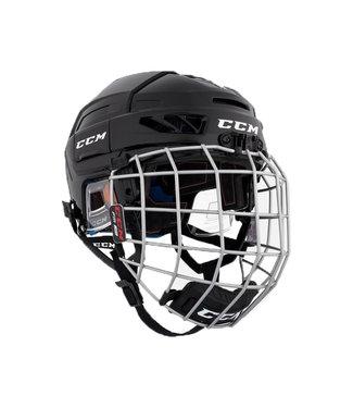 CCM Hockey - Canada HTFLJRC CCM Jr  FL3DS Helmet Combo  BLK