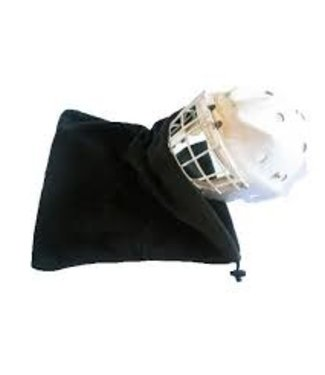 Fleece Helmet Protective Bag - Black