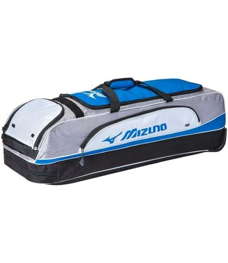 MIZUNO MVP WHEELED BAG GREY-ROYAL