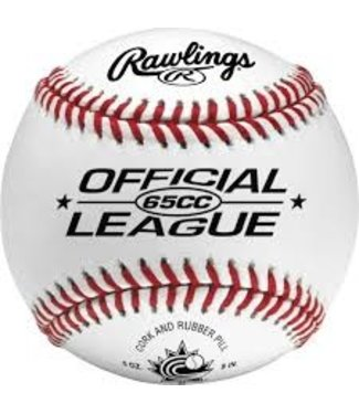 65CC League Game Ball - Official BASEballCanada single