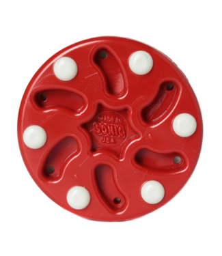 Sonic Roller Hockey Puck RED
