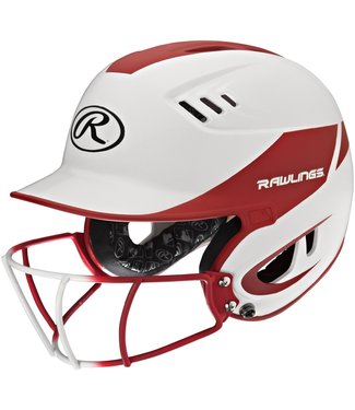 R16H2FGS  Rawlings Velo HOME SR w/ R16SBWG attached White/Matte Scarlet