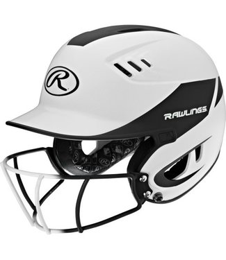 R16H2FGS  Rawlings Velo HOME SR w/ R16SBWG attached White/Matte Black
