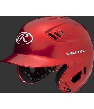 Velo R16S  Rawlings R16 Metallic Helmet Senior Metallic Scarlet