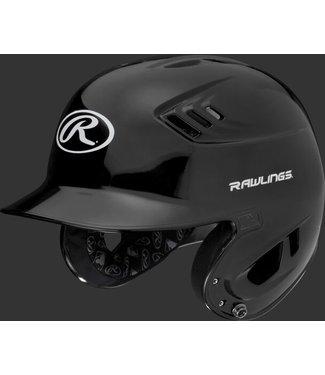 Velo R16S  Rawlings R16 Metallic Helmet Senior Metallic Black