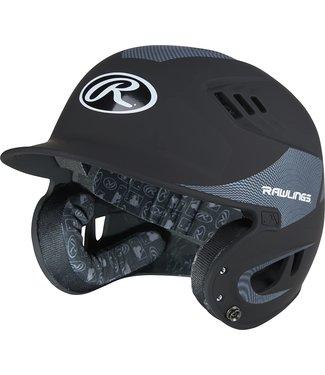 Velo R16CFS  Rawlings R16 Carbon Fiber Helmet Senior Matte Black/Black