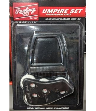 UBBDT Rawlings Umpire Accessories Set