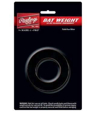 BW16 Rawlings 16 oz. Doughnut-Style Bat Weight