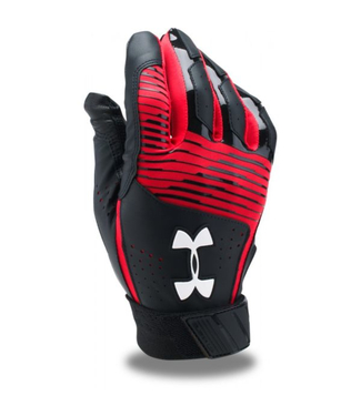UA Clean Up Batting Gloves Yth