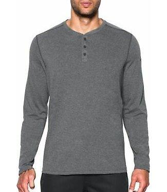 UA Threadborne Knit Henley L/S - Adult