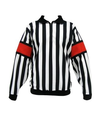 CCM Hockey - Canada CCM REFEREE JERSEY WITH SEWN ON ARMBANDS, SENIOR Red - V.61 46