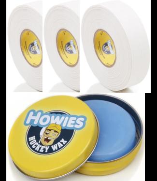 Howies Hockey Inc Howies Wax Pack White 3W/1Wax