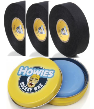 Howies Hockey Inc Howies Wax Pack Black 3B/1Wax