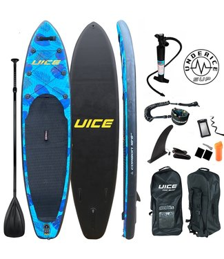 UICE Sports iSUP Board - Black Carbon Series