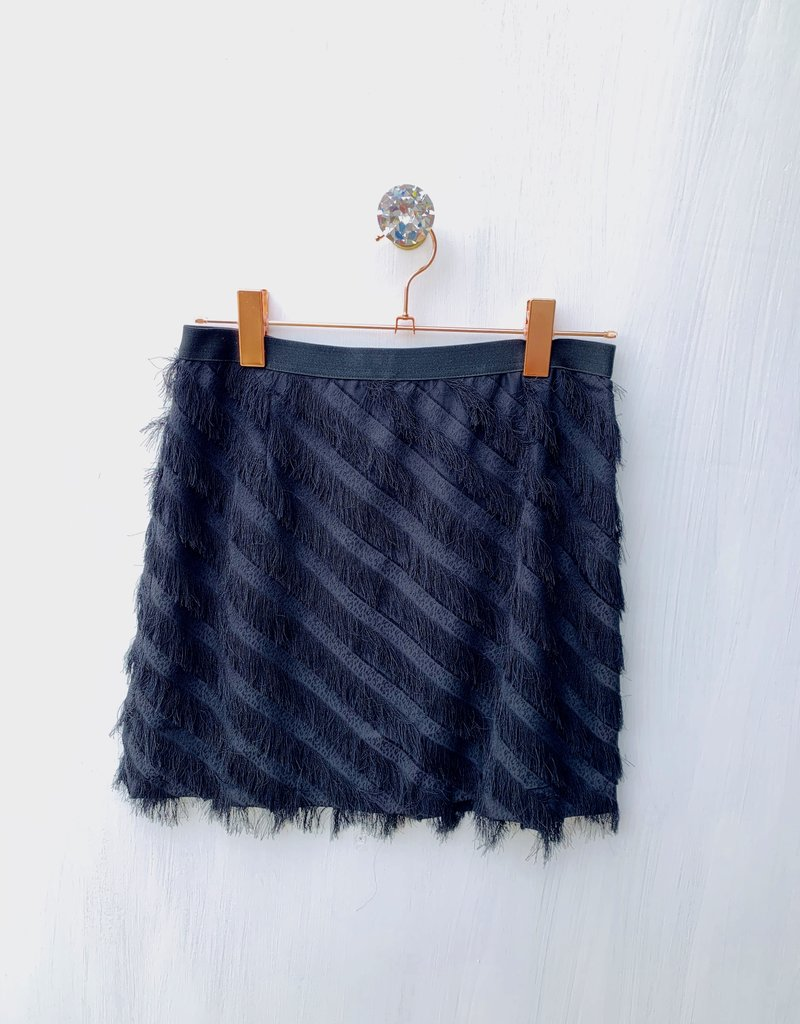 Banco Black Feather mini Skirt