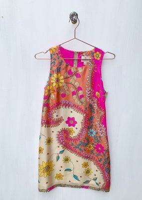 Julie Brown Pink Catalina Dress