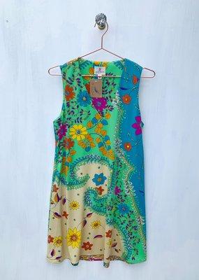 Julie Brown Green Catalina Dress