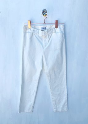 Molly Bracken White Woven Pant