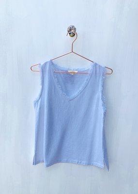 Gilli Cotton Linen S/less top
