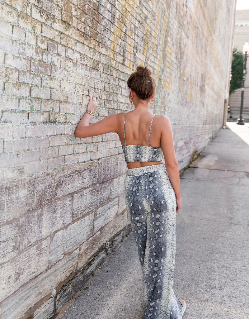 Essue Snake Skin Flowing Pant