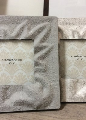 Creative co-op 4x4 Embossed Metal frame