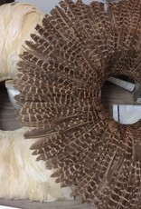 "Creative co-op 23"" Round Feather Wall Decor"