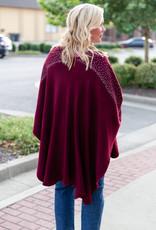 Fennysun inc Red and silver cape