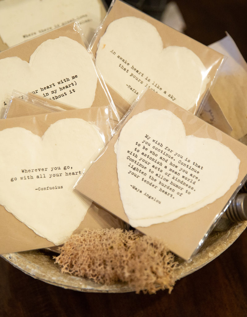 Sugarboo & Co Heart Cards with Envelope