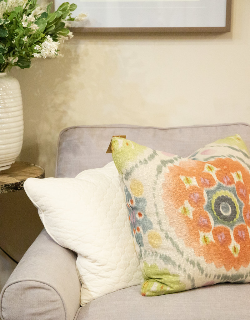 Decor fifty-five raspberry velvet pillow