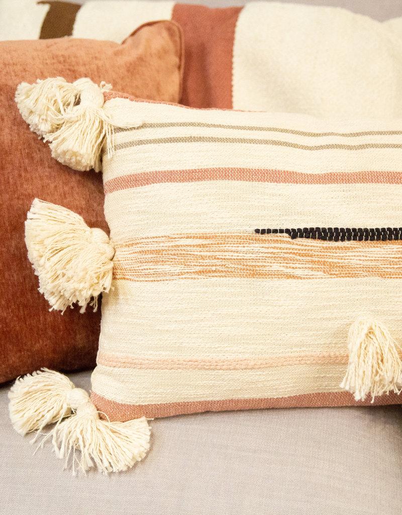 Rowe 20x20 Raspberry velvet pillow