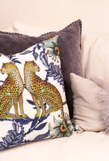Ngala Trading Lovebird Leopards pillow