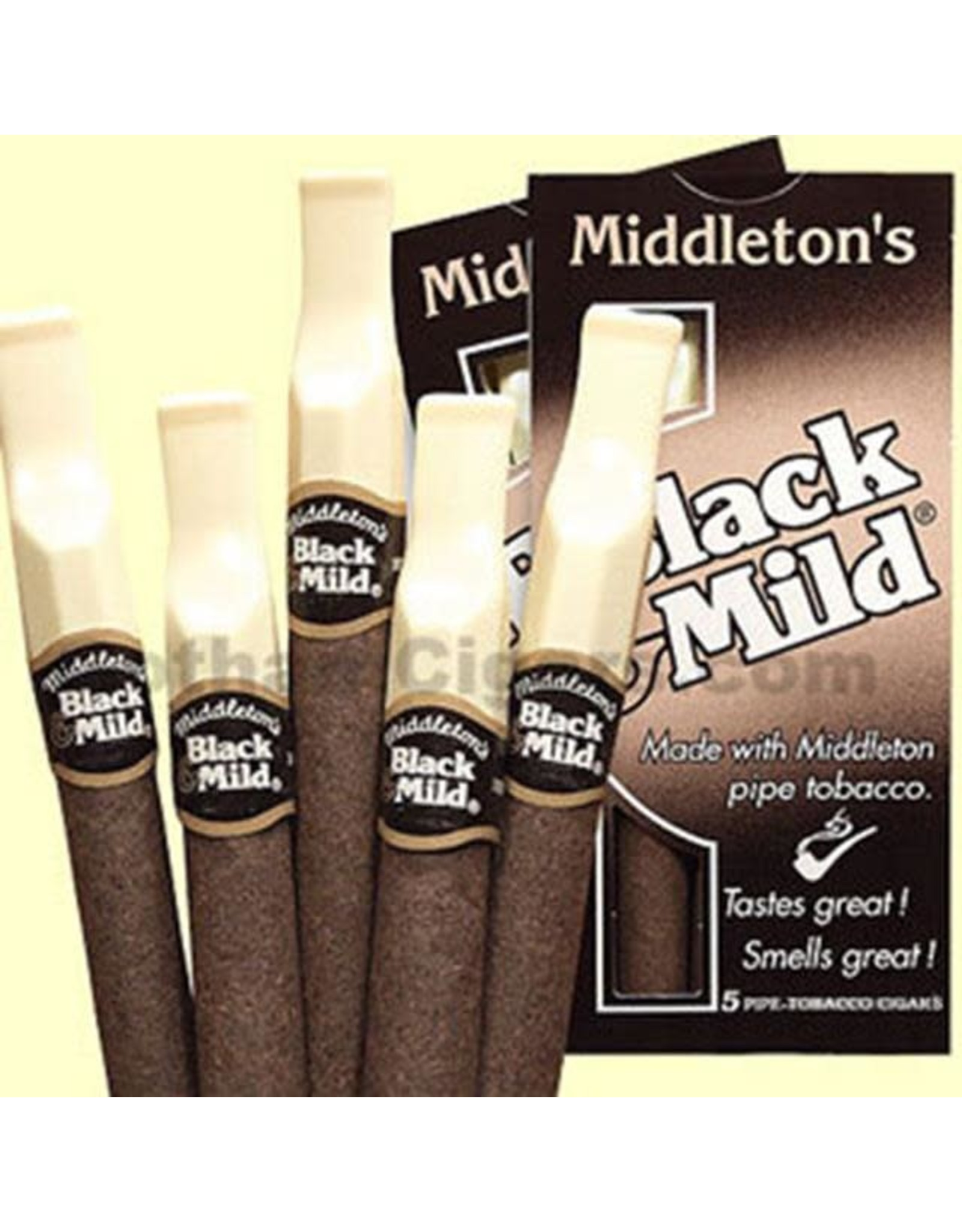 BLACK AND MILD