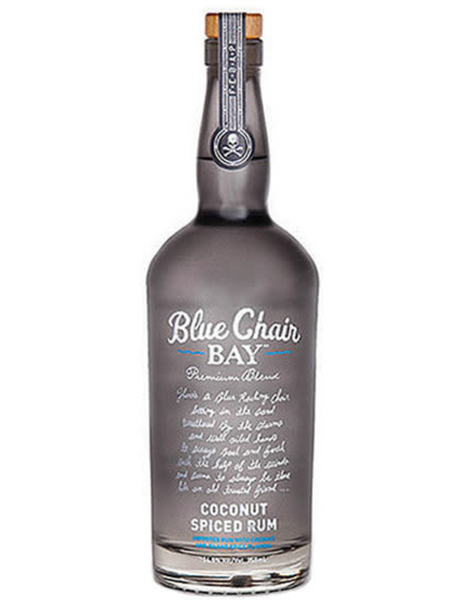 BLUE CHAIR COCONUT SPICED RUM 750 ML