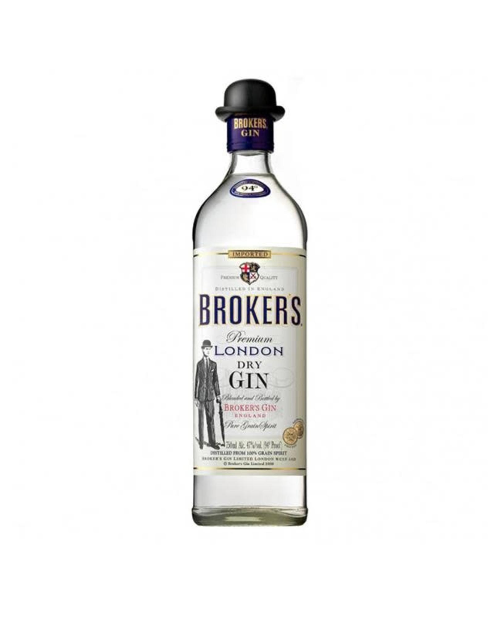 BROKERS GIN 750ML