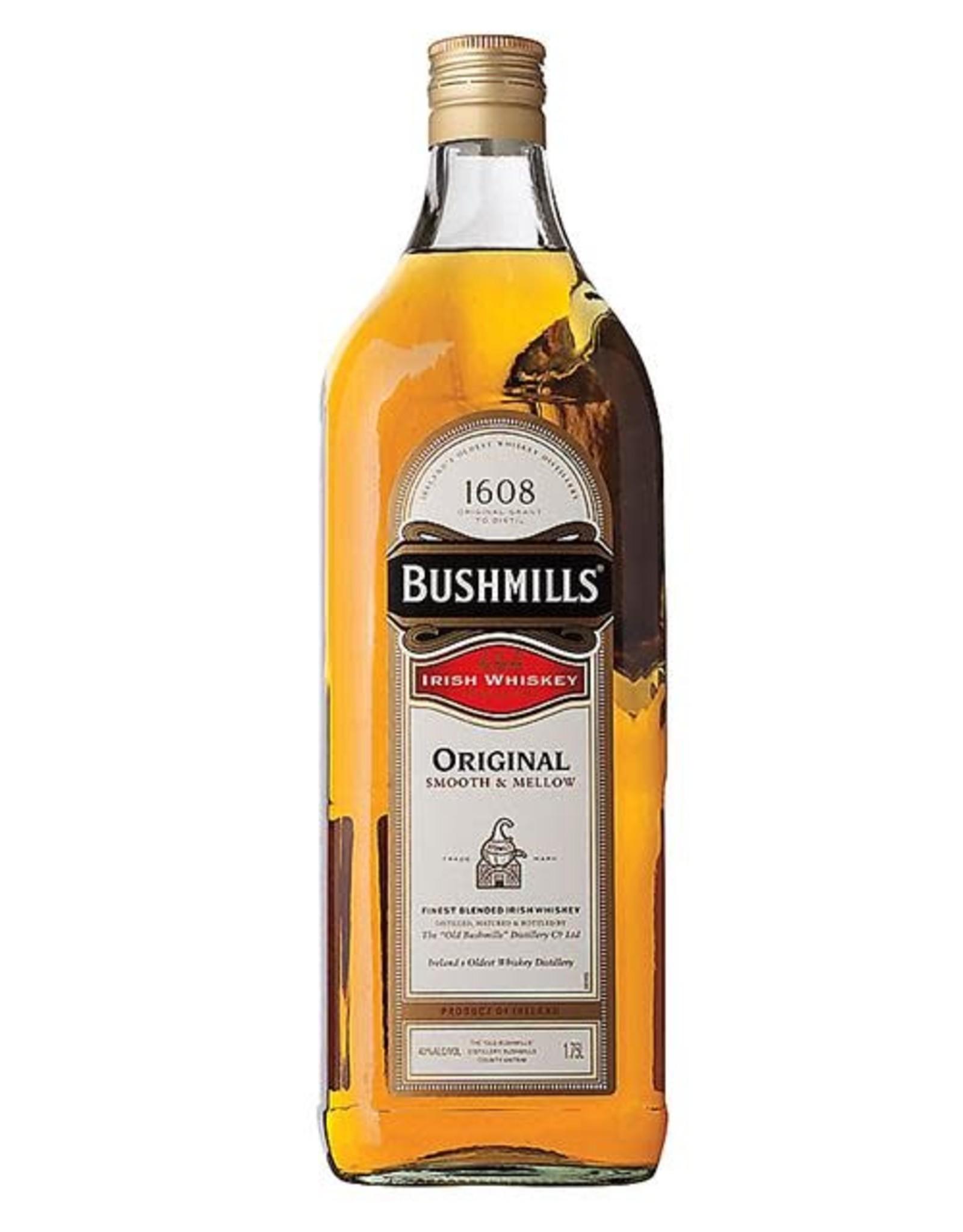BUSHMILLS IRISH WHISKEY 1.75