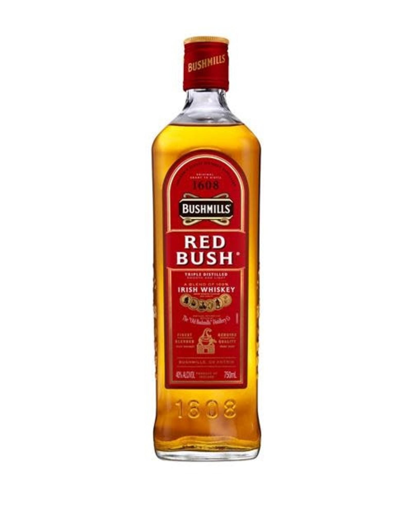 BUSHMILLS REDBUSH IRISH WHISKEY 750ML