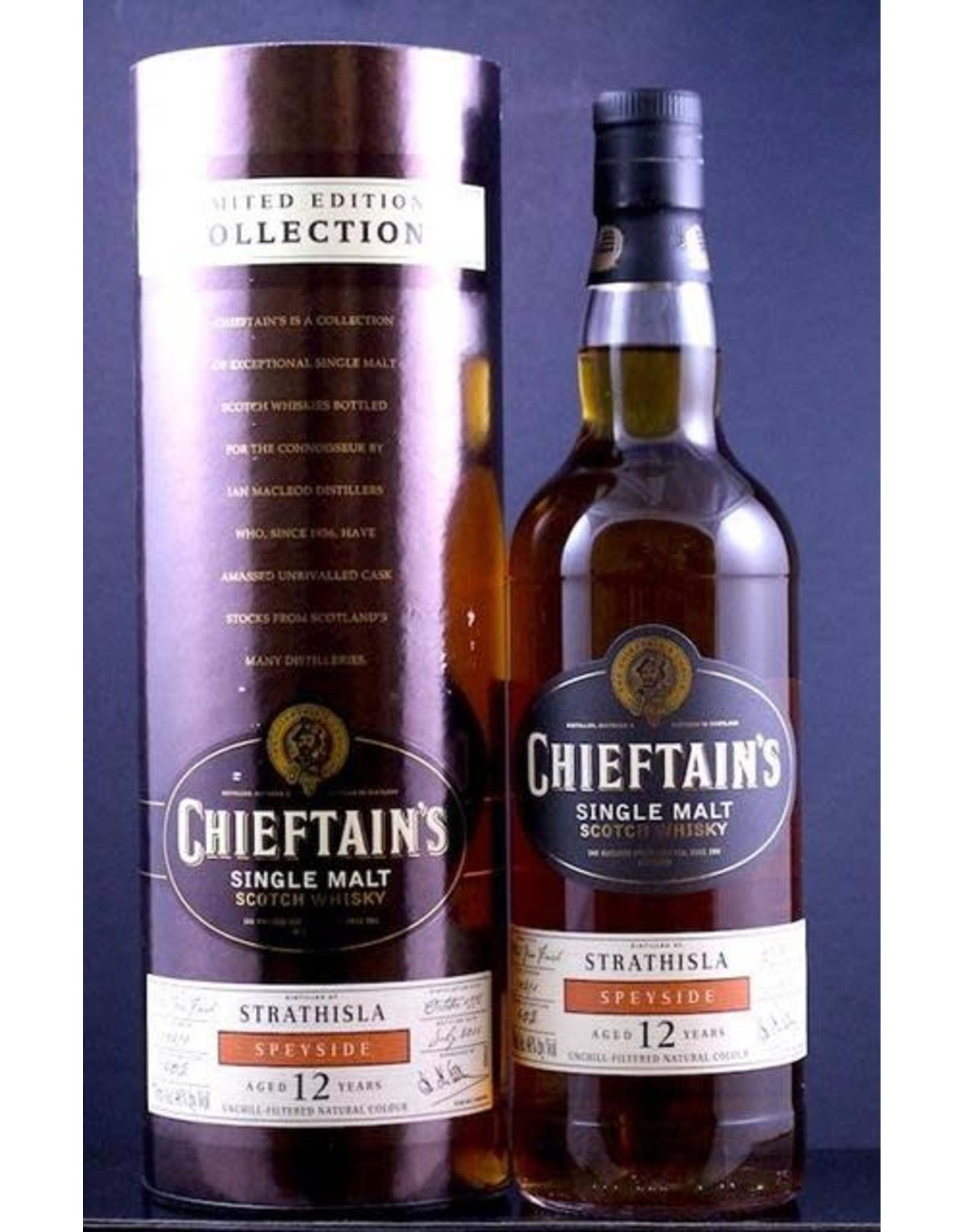 CHEIFTAIN'S STRATHISLA 12 YEAR 750ML