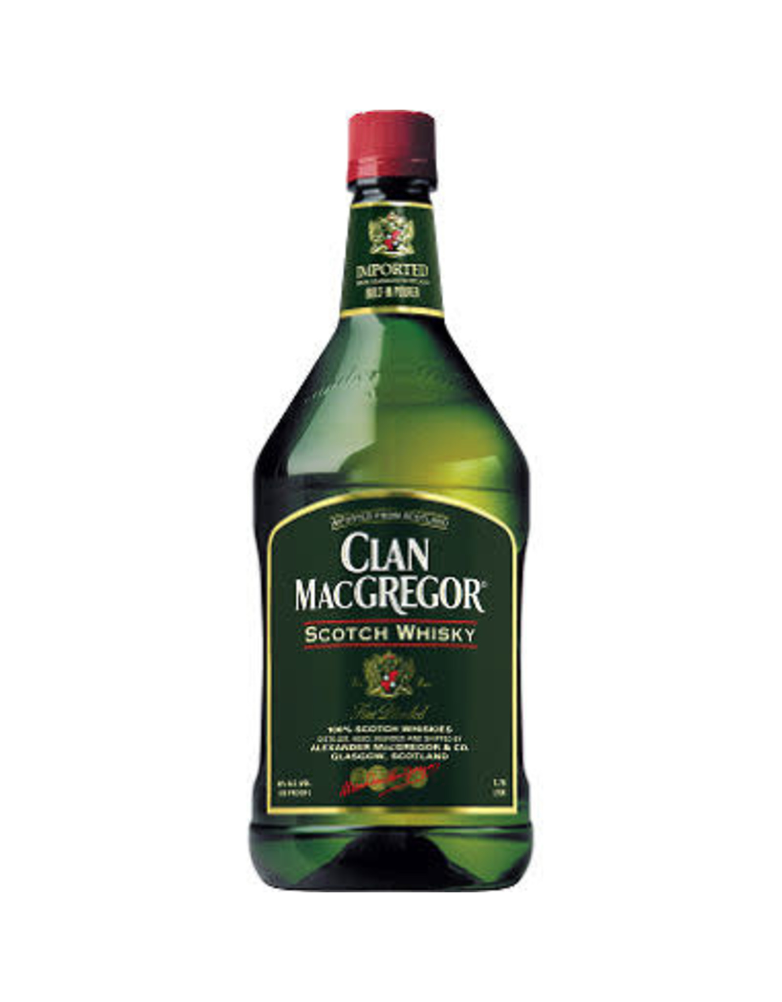 CLAN MACGREGOR SCOTCH 1.75L