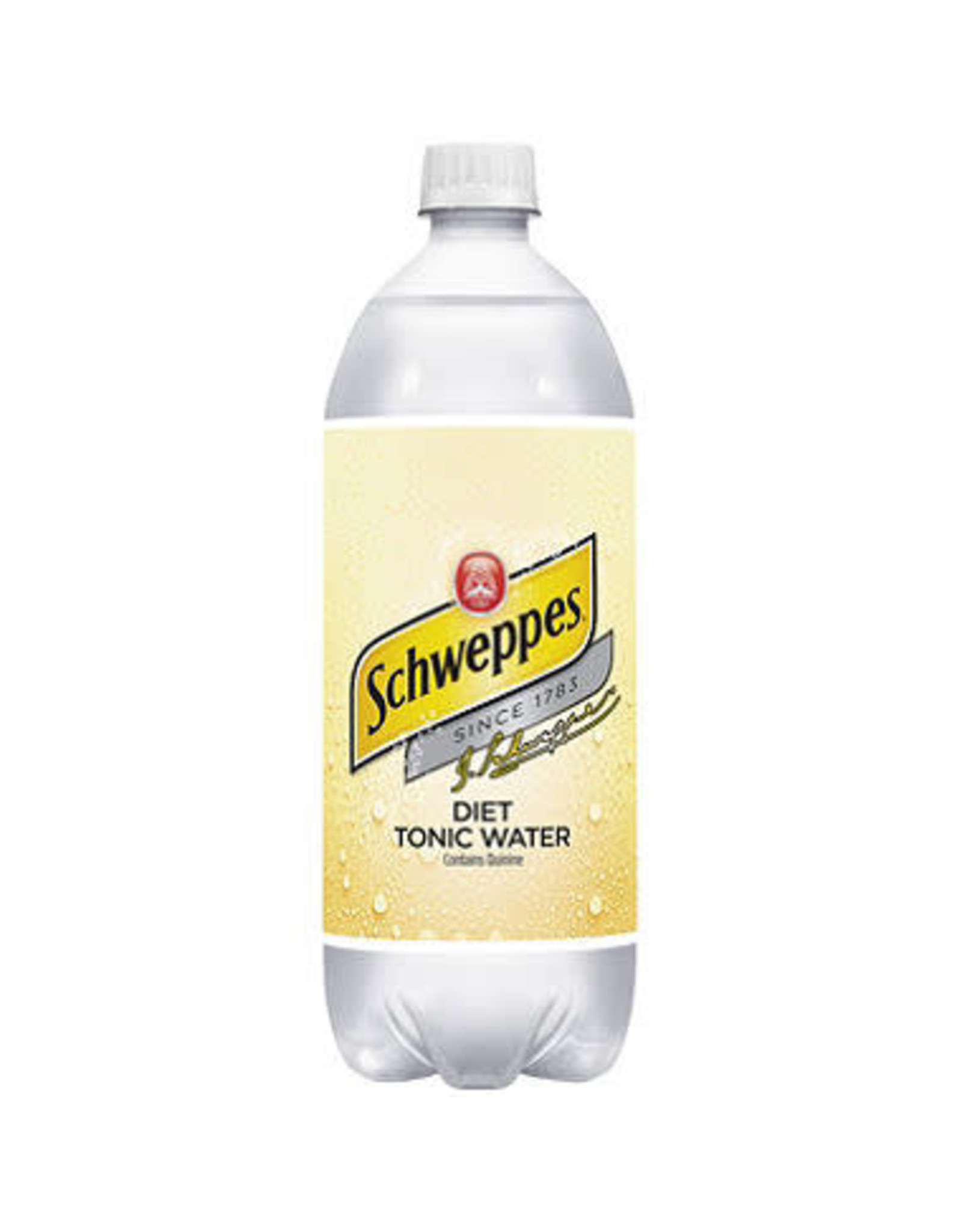SCHWEPPES DIET TONIC WATER 1 LITER