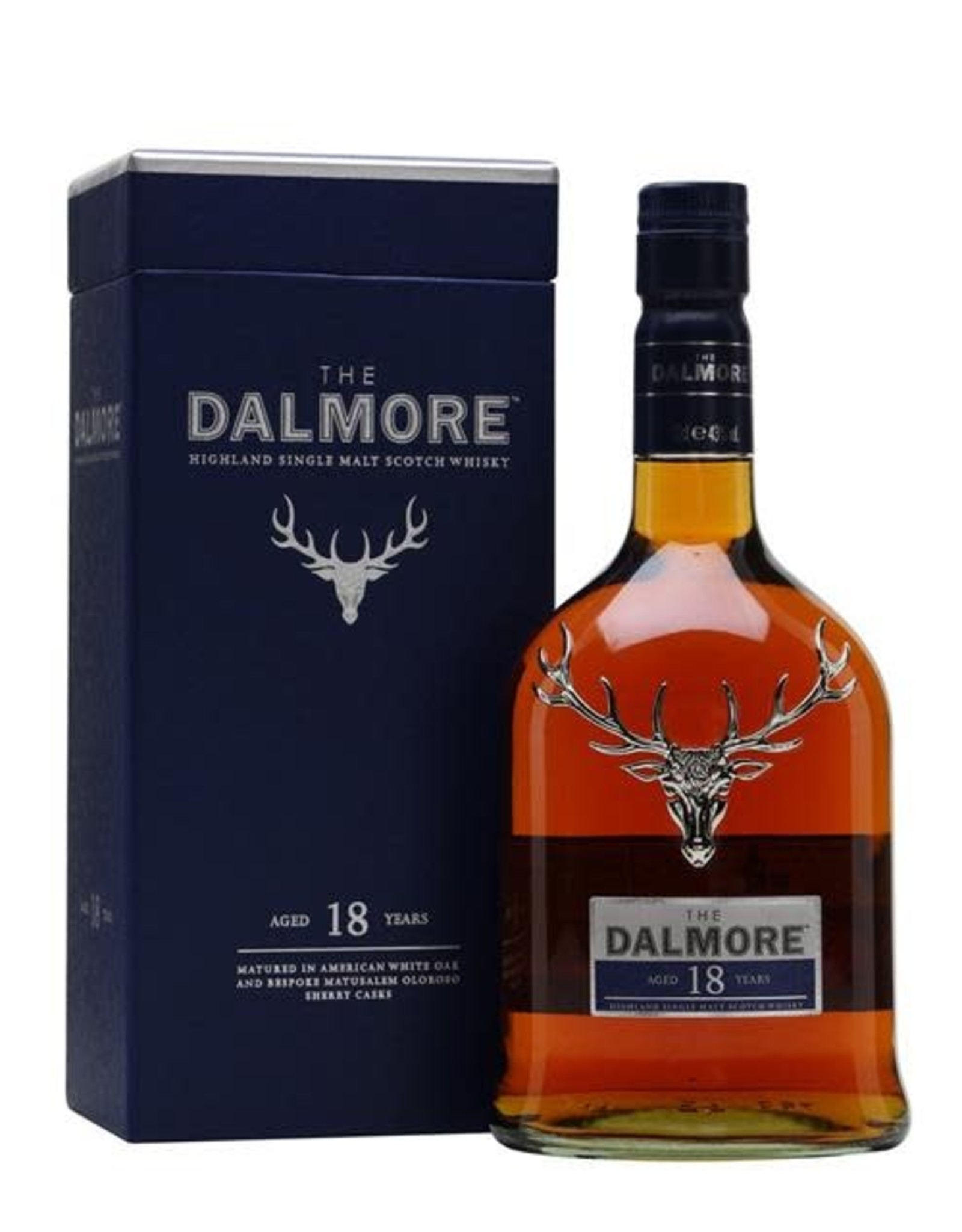 DALMORE 18 SINGLE MALT SCOTCH 750ml