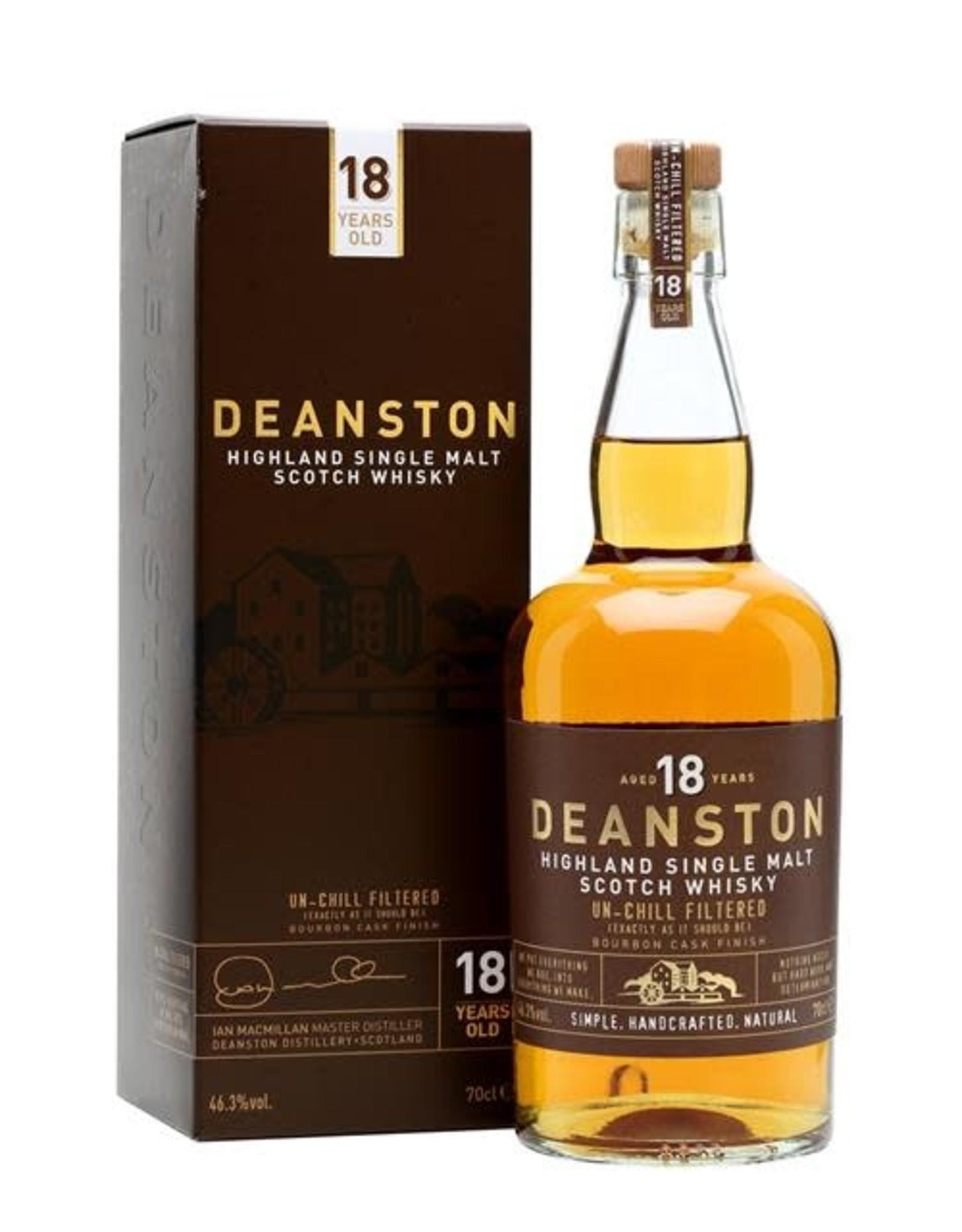 Deanston 18YR Bourbon Cask Ucf