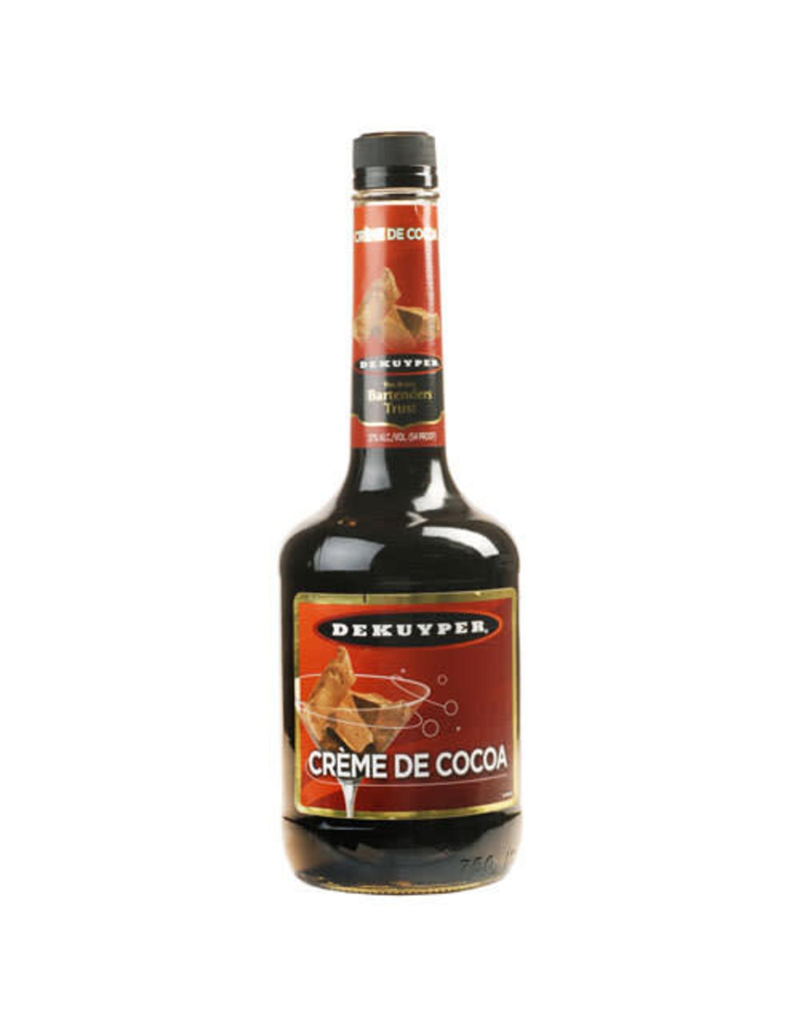 DEKUYPER CREME DE COCOA DARK 750ML